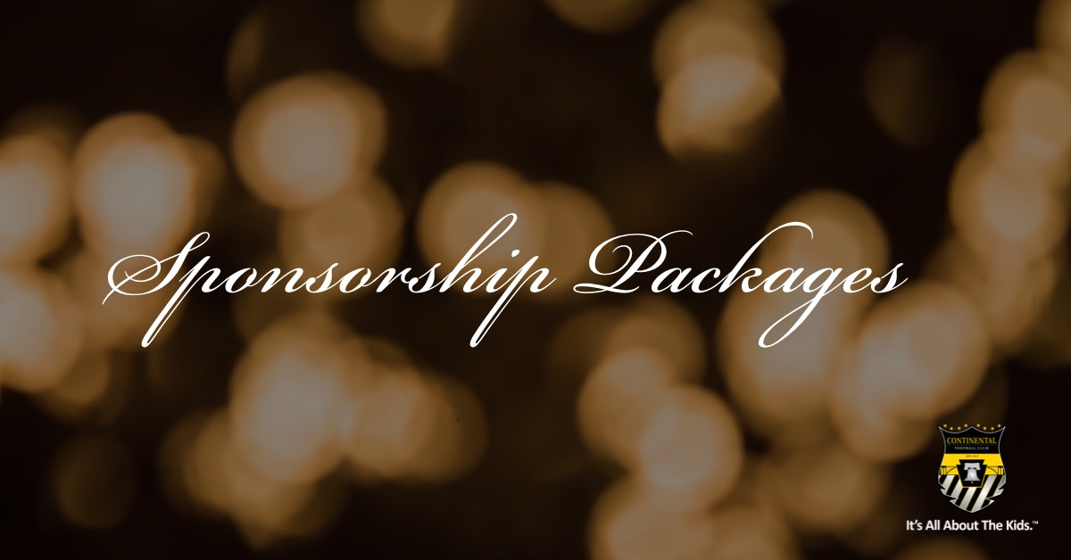 Black and Gold Sponsorship Opportunities