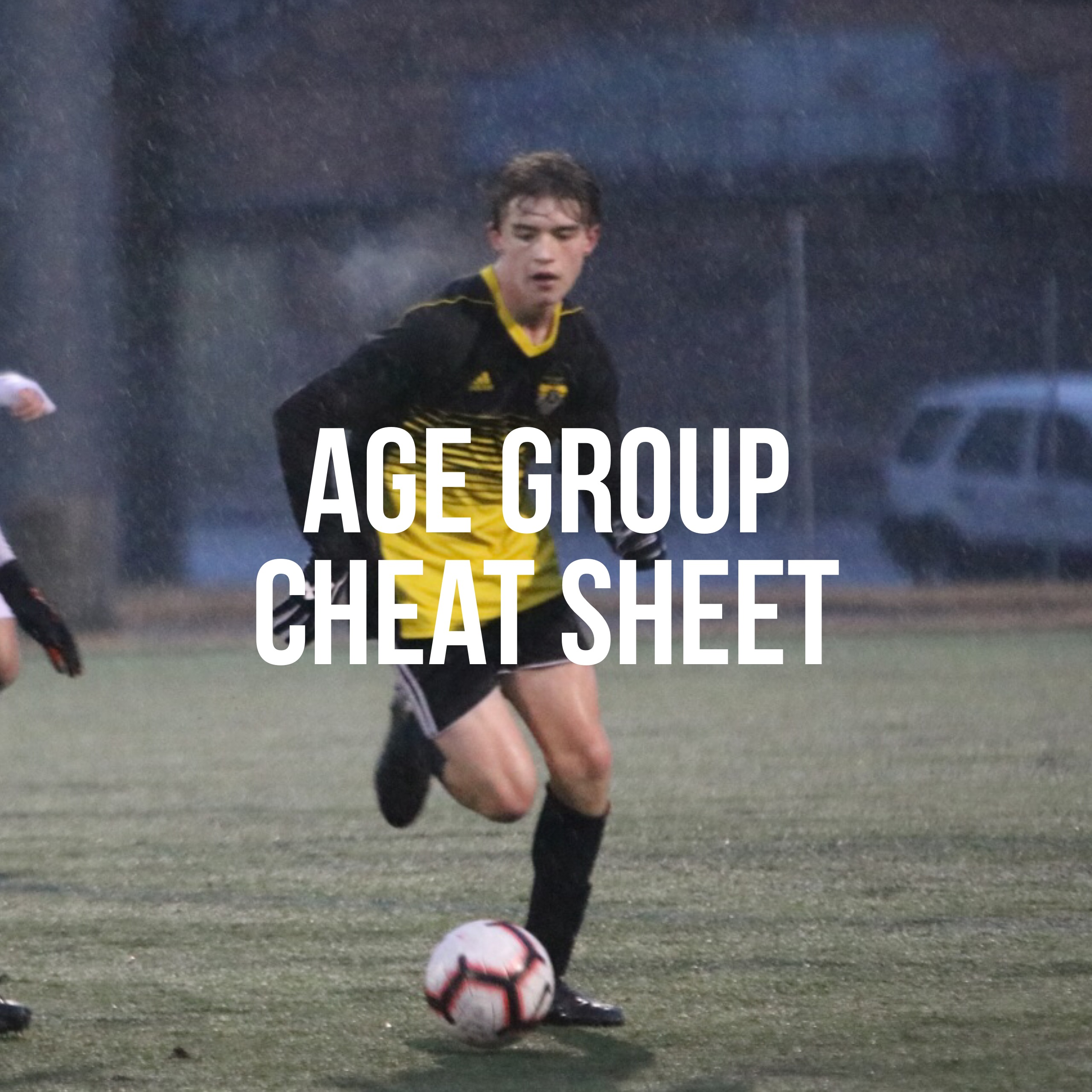 Age Group Cheat Sheet